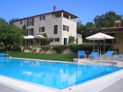 Photo for Villa With Pool in stunning country, only 20 Mins to the Sea, free wi fi