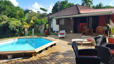 Photo for Bungalow with private pool in green residence
