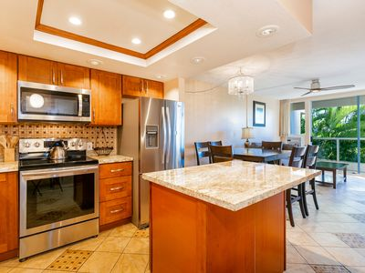 Photo for New Listing! Fully Remodeled! Lush Garden Views! Maui Banyan H205