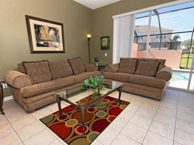 Photo for 3 Bedroom Windsor Palms Town Home w/ Splash Pool and Resort Amenities
