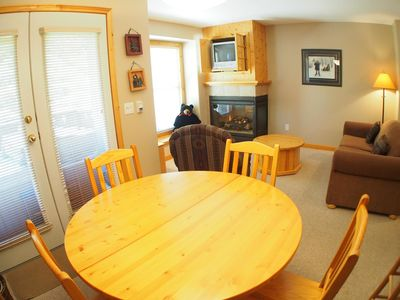 Photo for Upper floor 1 bedroom condo with easy access to ski-out trail