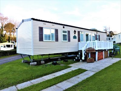 Photo for Wild Rose Gorgeous Caravan on Rockley Park
