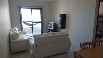 Photo for Apto. With sea view in Praia Grande with pool