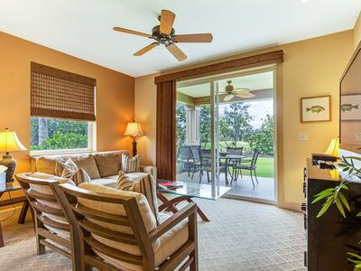 Photo for Quiet, Affordable Luxury & Golf Course View 3/2 in Hali'i Kai - Family Friendly!
