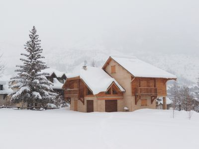 Photo for Chalet Serre Chevalier the Guibertes - 9 per. - Ski slopes 5 minutes by car