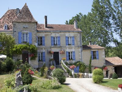 Photo for Manoir La Breuille - elegant Manor house with private heated pool