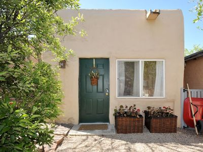 Photo for Less than 1 mile to Plaza-Serene and Spacious Adobe Casita for 4!
