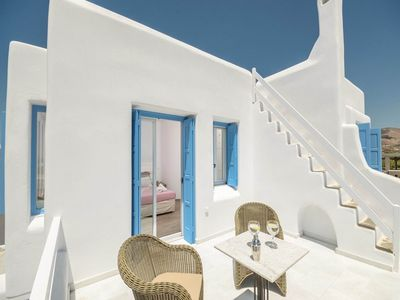 Photo for Superior Seaside Villa welcomes you to Naxos - Two Bedroom Villa, Sleeps 6