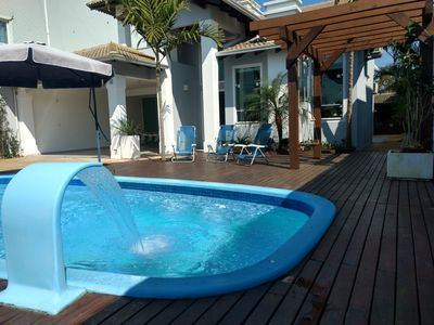Photo for House High Standard to 100 Meters Beach Mariscal with swimming pool.