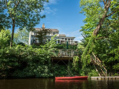 Ideal location on the Delaware River with dock