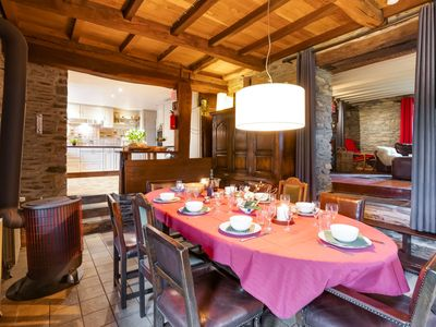 Photo for Detached holiday home with sauna and open fire, near Houffalize