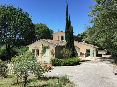 Photo for Charming house, exceptional view, swimming pool, olive grove.