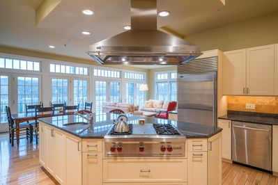 Prepare a delicious meal for your group in the fully-equipped kitchen.