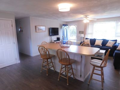 Photo for Newly renovated/adorable beach house/AC/1mi to RI's 3 state beaches/
