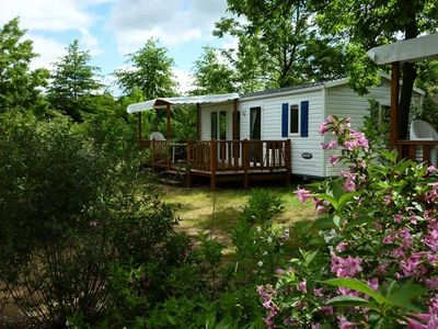Photo for Camping du Lac **** - Mobile Home IRM 3 Rooms 4/6 People
