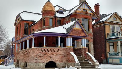 Beautiful unit at the Historic JD Baer Mansion built in 1888
