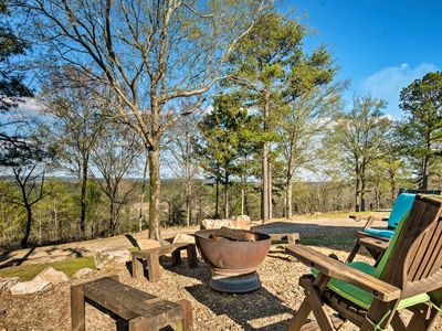 Photo for NEW-Rustic Retreat w/Hot Tub, Fire Pit+Great Views