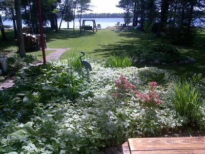 Clean, Cozy, Waterfront Cottage on Manistee Lake Spells Fun!