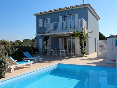 Photo for Calm located villa with pool, close to the sea, wifi | Ilia, Peloponnese