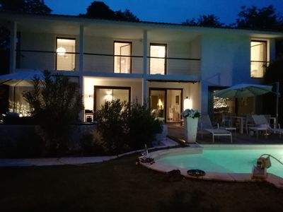 Photo for Contemporary villa about 220m2 pool
