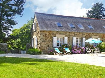 Photo for Semi-detached house, Plougrescant  in Côtes d'Armor - 6 persons, 3 bedrooms
