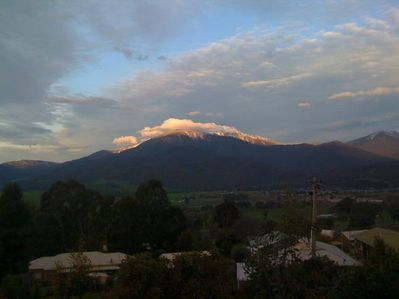 Late afternoon over Mt Bogong