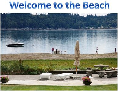Delightful Hood Canal Beach House. Private, romantic & adventerous all in one!