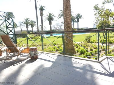 Photo for Central & Spacious 3 BR apart w/ shared pool, sleeps 6 - in Cascais