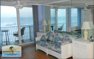 Photo for OCEANFRONT VIEWS FROM LIVING ROOM & BEDROOM - CHECK OUR LAST MINUTE SAVINGS