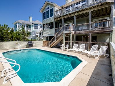 Photo for Sea Turtle   562 ft from the beach   Dog Friendly, Private Pool   Duck