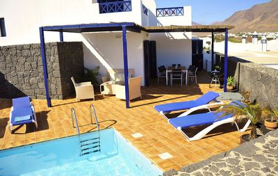 Photo for LIV Villa with private heated pool, free wifi, views, etc ...