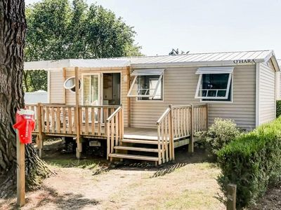 Photo for Flower Camping Le Conleau **** - Mobile home Comfort Plus 4 Rooms 6/8 People