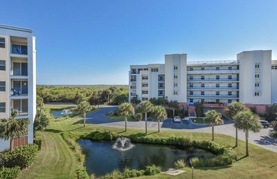 Photo for Gorgeous 3/2 corner unit with spectacular views of the pond ow15-401
