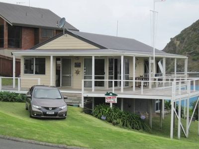 Photo for Superb sea views with excellent beach location