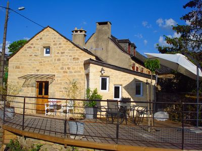 Photo for Calm and nature for this GITE 3 * - 5 couch. - very central to visit Aveyron