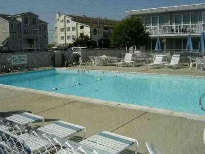 Photo for 2 BR Condo W/ Pool Across from Beautiful Beach!