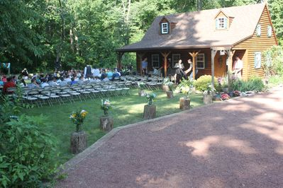 wedding at the cottage