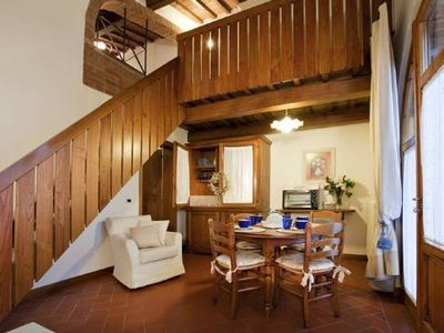 Photo for San Gimignano 2 bedroom apartment with pool
