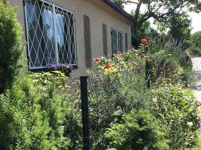 Photo for one bedroomed Apartment with Garden, terrace, Wlan Working Space,,parking