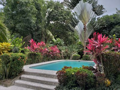 Photo for 'Casa Sammie' - very private oceanfront bungalow with a completely private pool!