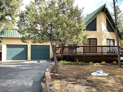 Photo for White Mountain Area Home with Views of Sierra Blanca! Hot Tub, Deck, Pool Table,