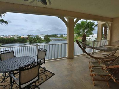 Photo for Cinnamon Beach Unit 1131 - Amazing end unit on the Water, steps to the beach!