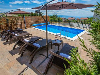 Photo for Vacation home Villa Paula in Opatija/Pobri - 8 persons, 4 bedrooms