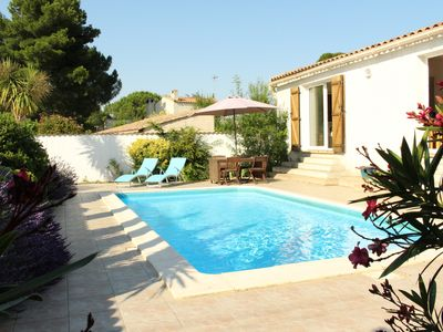 Photo for Villa With Private Pool & Pétanque Pitch