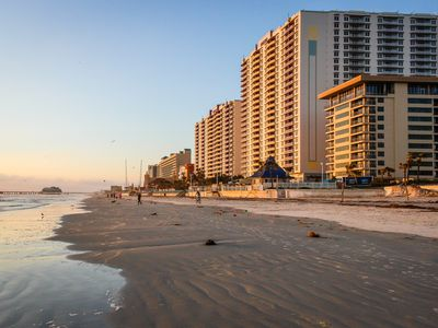 Photo for Two spacious oceanfront condos w/ shared pool, hot tub - snowbirds welcome!