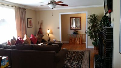 Private & Brick Ranch house- Walking distance to Historic Roswell