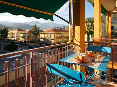Photo for Apartment 100 meters from the beach, Liguria, Riviera delle Palme