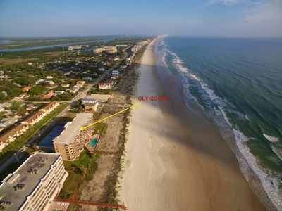"Photo for Oceanfront Paradise Located on ""No Drive"" Beach, Ponce Inlet, Daytona area"
