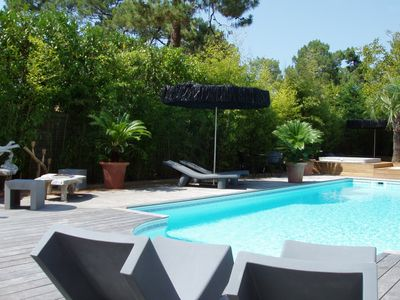 Photo for Pyla-sur-Mer: Villa Balaou, 300 ma away from beaches and 50 m away from shops