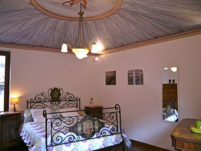 Photo for Balestrari Palace Terrace,very unique,with beautiful painted ceiling,all the modern comforts,terrace
